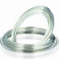 Quality AgSnO2 Silver Electrical Wire / Silver Tin Alloy Coils For Metal Contacts for sale