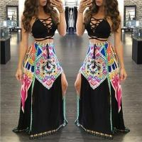 Buy cheap Sexy Halter Neck Women Fashion Summer Maxi Long... from wholesalers