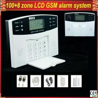 Buy cheap GSM-500 Wireless Home Security LCD display GSM Alarm System with remote control product