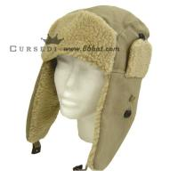 Quality cheap 100 Acylic Cotton Winter Cap with ear flaps for sale
