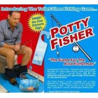 Quality Potty Fisher Toilet Fishing Game Novelty Toilet Game for sale