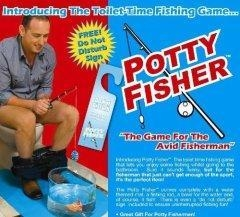 China Potty Fisher Toilet Fishing Game Novelty Toilet Game