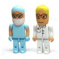 Buy cheap doctor shape usb flash drive ABS usb memory disk robot usb flash memory product