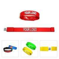 Buy cheap High Performance Worth Buying Silicon Wristband Cheap Bracelet Usb Flash Drive product
