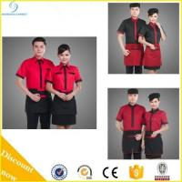 Quality High quality western restaurant uniform, restaurant and bar uniform, restaurant waiter uniform for sale