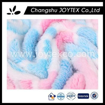 Buy 100% Polyester jacquard coral fleece fabric printed for kids pajamas at wholesale prices