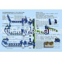 Waste tire processing production line