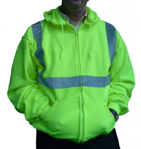 Buy HVJ059 High Visibility Fleece Jacket at wholesale prices