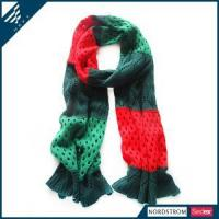 Quality winter scarf knitting patterns Winter Knitted Scarf for sale