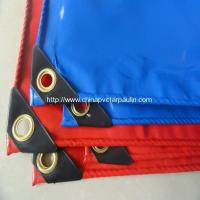 Quality Flame Retardant Vinyl Tar vinyl tarps for sale