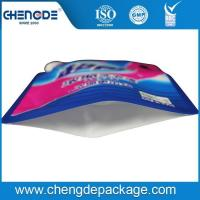 Detergent or washing liquid packaging stand up spout bag with handle for laundry detergent