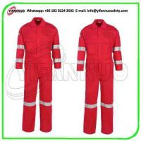 China 220Gsm Cotton anti-static fr clothing used for industry on sale