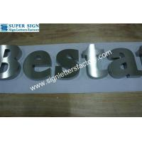 stainless steel corporate sign letters 62