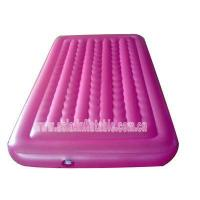 China Top Quality Rose Pink Inflatable Air Mattress for Sale on sale