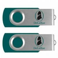 Buy cheap Cyan Green Flash Drive Customized Pantone Color USB Memory Stick from wholesalers