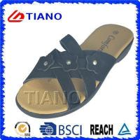 Buy cheap Comfortable Footbed Lady EVA Beach Slipper with Flower (TNK20076) from wholesalers