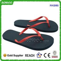 Buy cheap Cheap Promotional Pvc Upper PE Sole Flip Flops(RW29155) from wholesalers