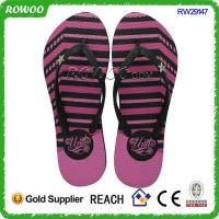 Buy cheap Promotional Sex Print fashion Rubber flip flops(RW29147) from wholesalers