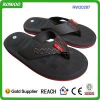Buy cheap China Slippers PU Men Slippers TPR flip flop from wholesalers