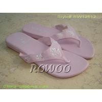 Buy cheap Flat Pink Slipper RW12512 from wholesalers