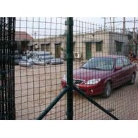 China Welded Wire Fence from PVC coated or galvanized weld wire panels on sale