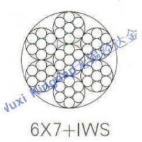 Quality 6X7+IWS stainless steel wire rope for sale