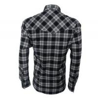Buy cheap 100% cotton flannel check shirts for men from wholesalers