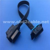 Buy cheap OBD GPS Tracking Cables obd2 male to female flat for GM diagnostic from wholesalers