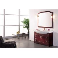 Quality New Fashion Red Bathroom Vanity Cabinet Q6639 for sale
