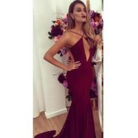 Buy cheap Latest Sexy Open Back 2016 Party Dresses Cheap Mermaid Sweep Train Evening GownsItem Code: BA2231 from wholesalers