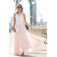 Buy cheap 2016 Lace and Locks Pink Cheap Maxi Skirt Lace Summer Evening Party Dresses CE0062Item Code: BA2610 from wholesalers