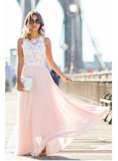 Buy 2016 Lace and Locks Pink Cheap Maxi Skirt Lace Summer Evening Party Dresses CE0062Item Code: BA2610 at wholesale prices