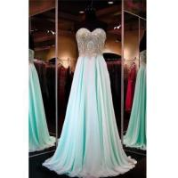 Buy cheap 2016 Pretty Chiffon Prom Dress Sweetheart Sequins Beads Evening DressesItem Code: CE091 from wholesalers