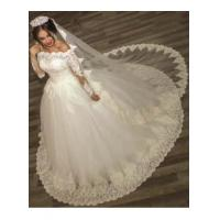Buy cheap 2016 Ball Gown Wedding Dresses Long Sleeves Off Shoulder High Quality Bridal GownsItem Code: WE0122 from wholesalers