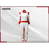 Quality Pure and New White Car Racing Suit RB-CR023 for sale