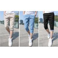 China The fashion summer thin body-con capri pants on sale