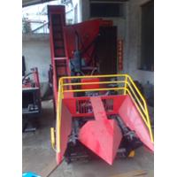 China Small corn harvester price on sale