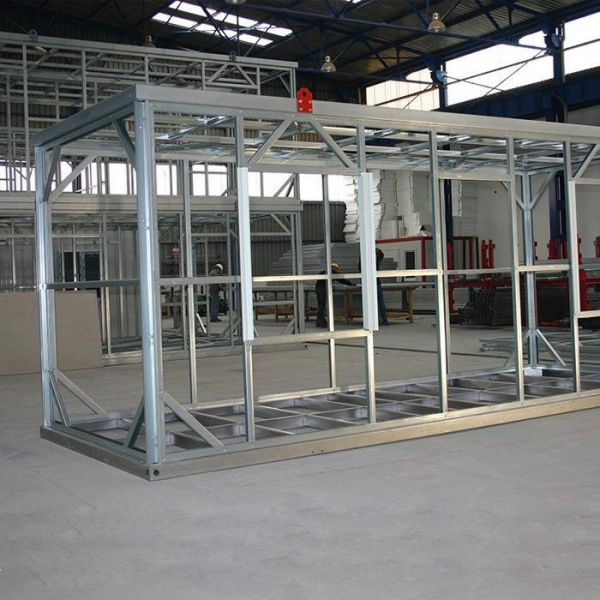 China Container Houses Custom-built Seismic Reinforcement Prefab Container Homes