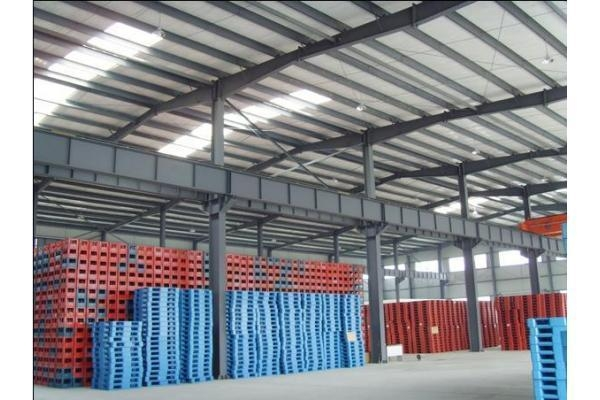 China Container Houses Steel Structural Warehouse