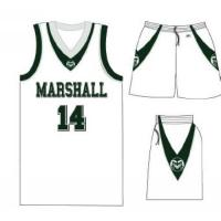 Buy cheap Customized Basketball Uniform from wholesalers