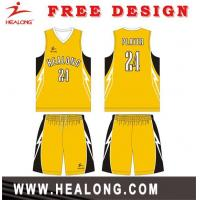 Buy cheap Design Your Own Cheap Team Basketball Uniform Design from wholesalers