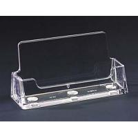 Quality Stand Up Acrylic Sign Holder with business card holder for sale