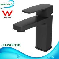 Quality lavatory faucet brass black plated basin mixer tap JD-WB811B for sale
