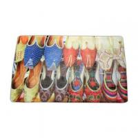 China Washable beautiful shoes doormat on sale