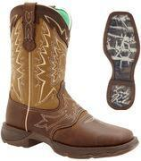"""Quality Durango Boots - REBEL Let Love Fly - Women's 10"""" Leather Western Boots - Brown for sale"""