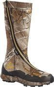 "Quality ROCKY Brand - Men's Outdoor - 16"" Broadhead Hidden Laces Zipper Boots - Hunting - Olv/TreeBark for sale"