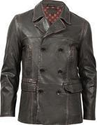 Buy cheap Durango Leather Co. THE DEACON Men's Leather Jacket - Dark Brown from wholesalers