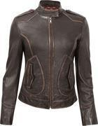 Buy cheap Durango Leather Co. SALOON Women's Leather Jacket - Dark Brown from wholesalers