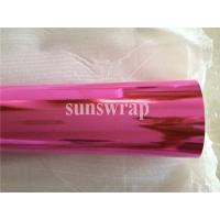 Quality Pink Mirror Chrome Film for sale