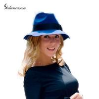 Quality most popular in UK Unisex Fedora Hat ribbon decoration FM037014 for sale